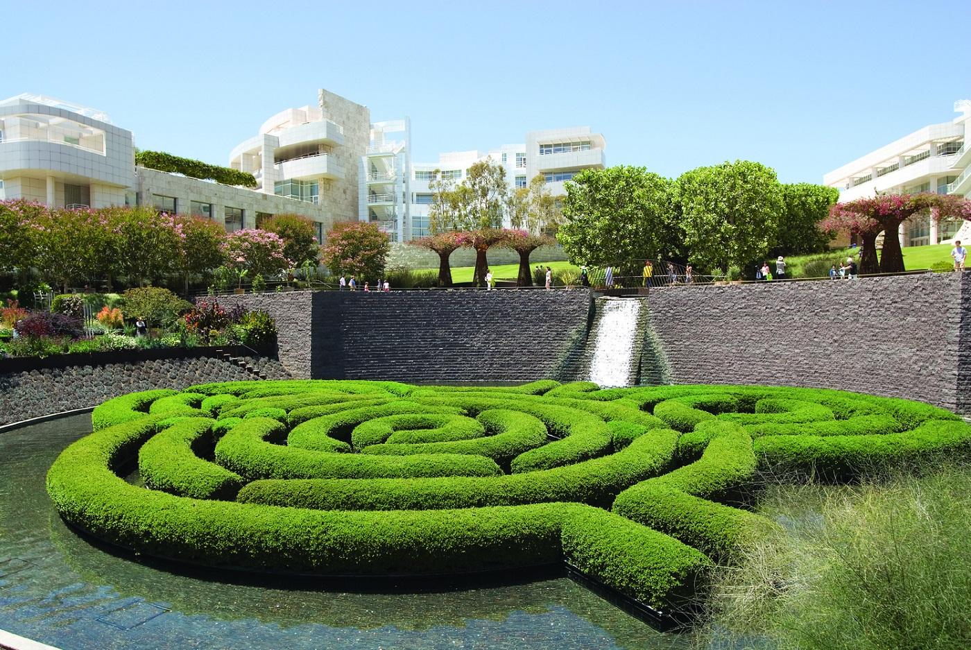 Getty Centre Garden