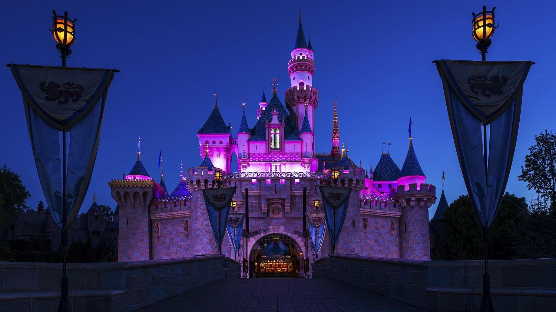 Disneyland - Sleeping Beauty's Castle