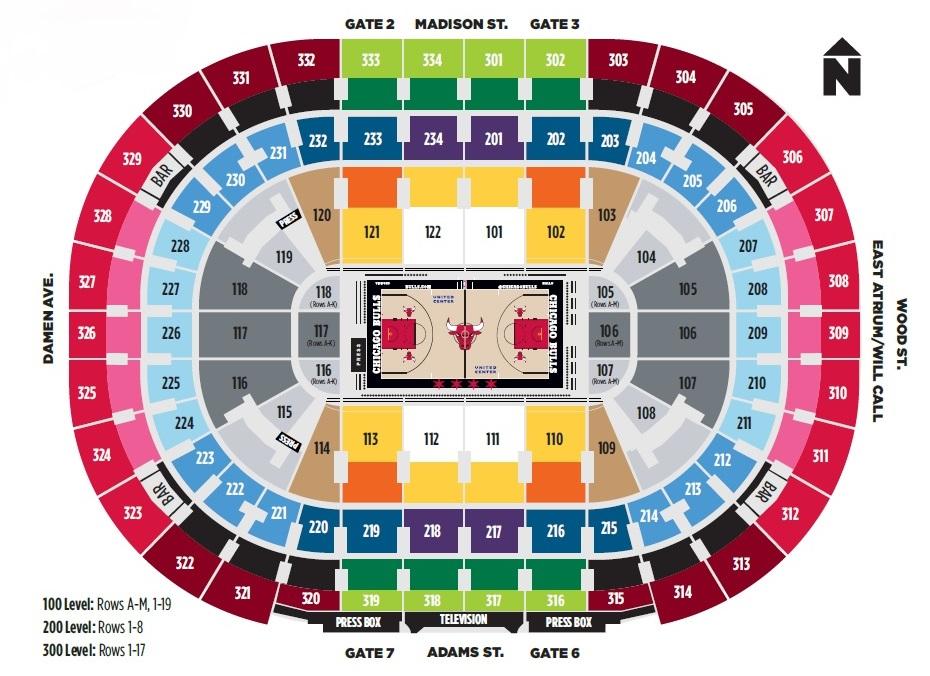 Basketball - NBA All Star Game Seating Chart