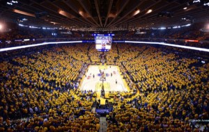 Oracle Arena plays host to the Golden State Warriors