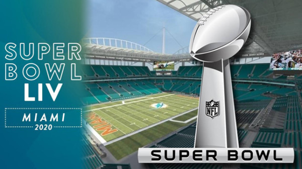 Super Bowl LIV Hard Rock Stadium Miami