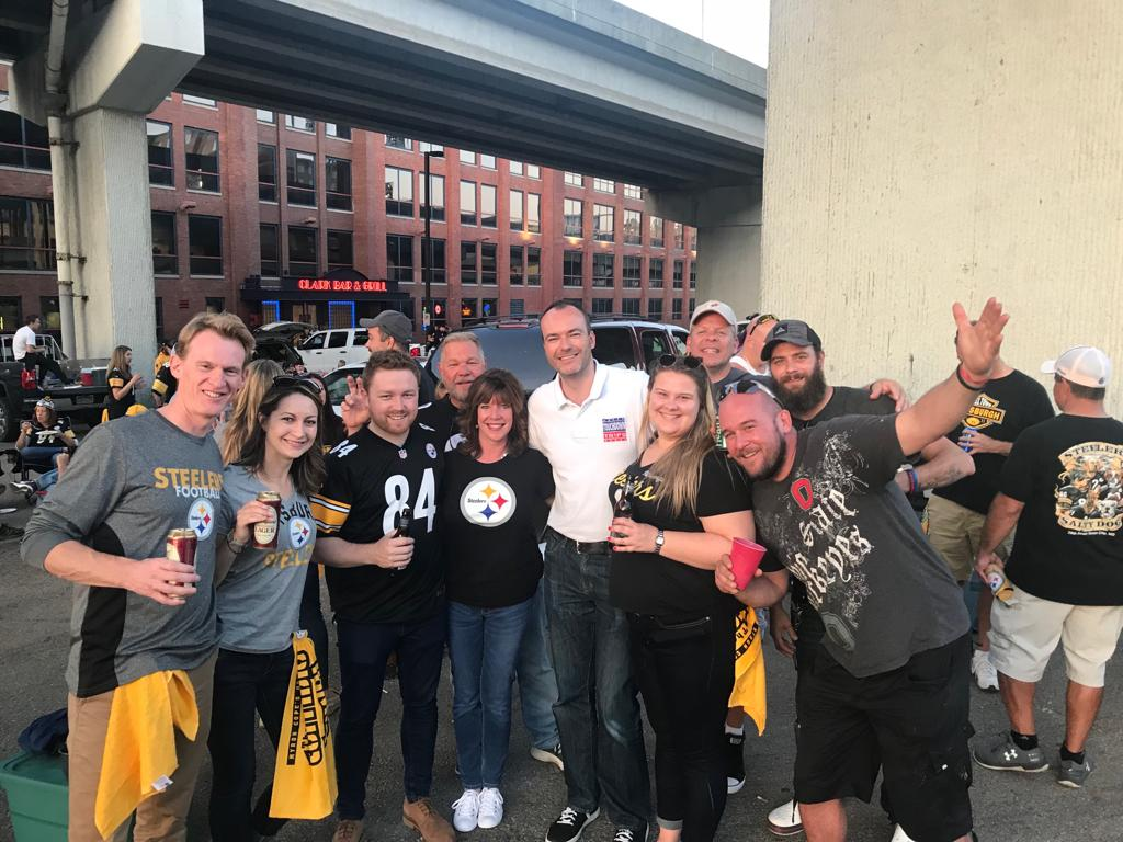 Pre Game Steelers Tailgate