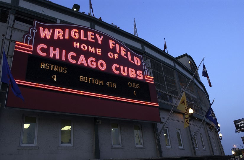 Wrigley Field - Home to the Chicago Cubs