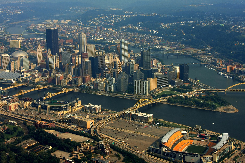 Pittsburgh Aerial Photo