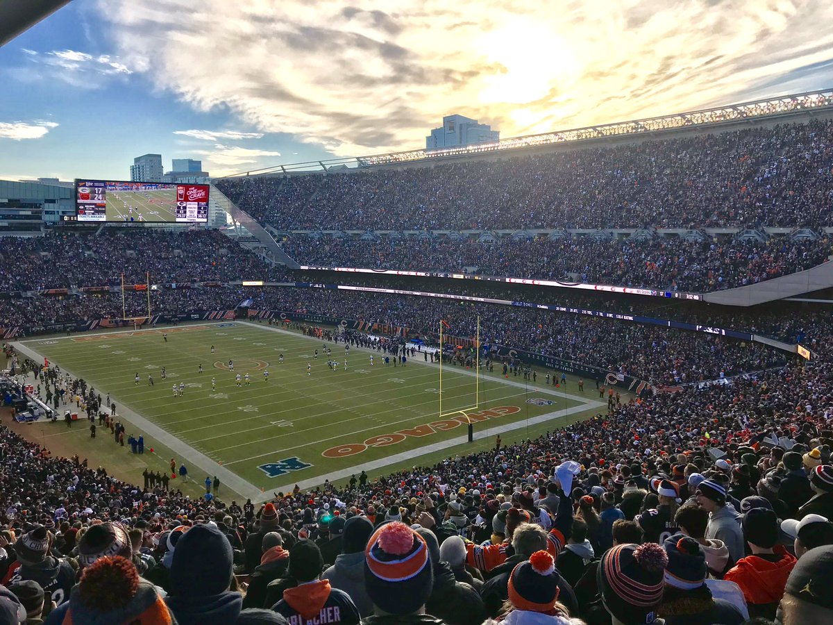 Soldier Field on Game Day
